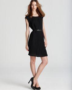 Gerard Darel Black Pleated Dress - Bloomingdale's Exclusive | Bloomingdale's