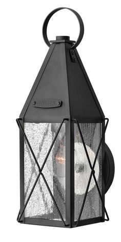 I really like BUT need to hang from hook Hinkley - 1840BK - One Light Outdoor