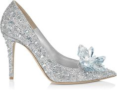 Cinderella, I'd keep the slippers! #jimmychoo #glassslipper