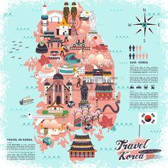 「south korea map」的圖片搜尋結果