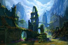 Roses took over by jjpeabody.deviantart.com on @deviantART Before the War of Wrath drowned Beleriand, roses grow in Gondolin's empty ruins.