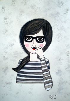 Mustache by Joana Pena, via Flickr