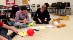 "Using one of Keetman's Rhythmische Ubung, we created a rondo using balloons and chopstick ""beaters."" While we used the same basic rhythm for each episode, th..."