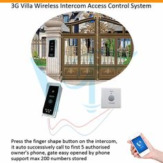Access Control Kits Good Gsm Intercom For Emergency Help Gate Opener Access Controller And Service Help Calling Dc12v Power Input Fashionable And Attractive Packages