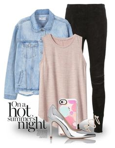 """""""Apr 8th (tfp) 3373"""" by boxthoughts ❤ liked on Polyvore featuring Yves Saint Laurent, MANGO, Gap, Casetify, Topshop, L.K.Bennett and tfp"""