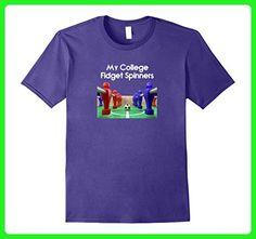 Mens My College Fidget Spinners - Foosball - Table Soccer XL Purple - Sports shirts (*Amazon Partner-Link)
