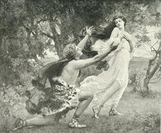 """Henrietta Rae (1859-1928), """"Apollo and Daphne"""""""