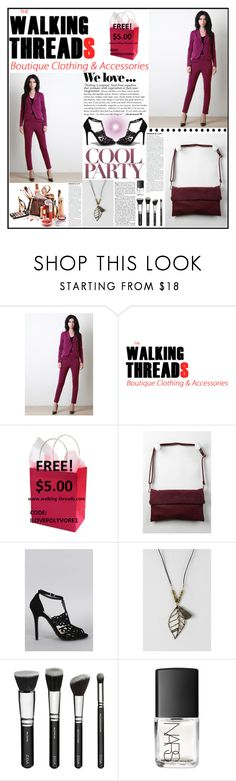 """""""THE WALKING THREADS.21"""" by samirhabul ❤ liked on Polyvore featuring Zara, Anne Michelle, NARS Cosmetics and thewalkingthreads"""