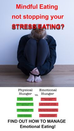 Have you tried to use Mindful Eating to control your hunger and found it's not working? It's probably because you're eating from stress! Learn the method to manage your emotional eating!