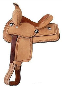 "10"" Children's Youth Bobcat Roughout Western Saddle by King Series Free Shipping"