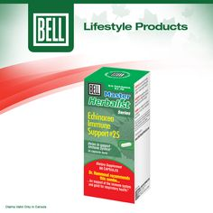 With winter on the way we are all more susceptible to colds and flus. Keep your immune system at its best and ready to fight off infection and illness with Bell Echinacea Immune Support! Learn more about Bell Echinacea Immune Support on our website today. http://www.belllifestyleproducts.ca/echinacea-immune-support-25.htm