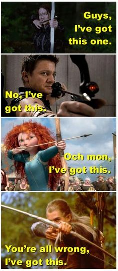 Archery, the new movie weapon of choice