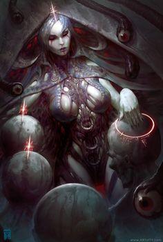 Mother of Flesh by ArtofTy