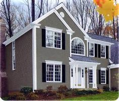 Light Grey Siding With White Trim     Yahoo Image Search Results
