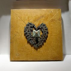 Unchain My Heart   Mixed Media Assemblage  Wood by FoundARTvision, $135.00