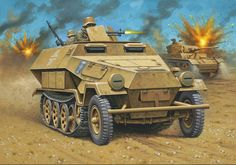 251 C and Mark III in North Africa.