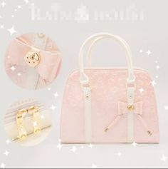 6c5543adcb7c Sailor Moon 20th Anniversary Embossing Bag Limit Lady Handbag Leather Pink
