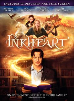 Inkheart (Nearly done with the book now, but prefer the movie...probably because I'd seen the movie at least twice before reading the book...)