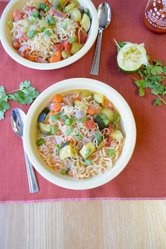 using ramen noodles easy recipes Pinterest on Kale  Recipes  Soups, and Soup Soup Soups&Stews Recipes