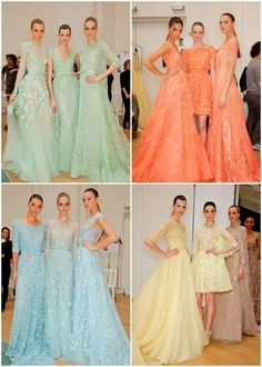 Colors of the season, Elie Saab Haute Couture spring 2012