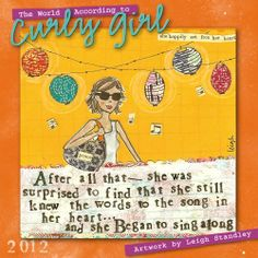 The World According to Curly Girl 2012