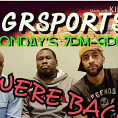 Tune in live to @UGRSPORTS Today 7pm to 9pmWE'RE BACK FROM VACATION!!! www.WJMSRadio.COM CALL US at 267-439-4341 TUNE IN TO FACEBOOK LIVE As we discuss #nflplayoffs #eagles playoff preview & everyday life.  @undergroundrealsports  #hottopics  #everdaylife & sports. #scandal @wjms_radio #Instagram & #Twitter #facebooklive #ugrsports #uncut #talkshow #onlinetalkshow #sports #wjms #onlineradio #wjmsradio #monday #boxing #scandal #cheating #nba2k18 #nba #nba #Sixers #nfl #radio #nickfoles…
