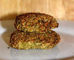 Rezept Brokkoli falafel (vegan und glutunfrei) von camillaseeland - Rezept der Kategorie Hauptgerichte mit Gemüse