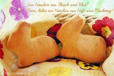 Patce's Patisserie: Part IV: Hasen aus Hefe- und Mürbeteig