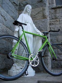 St. Dominic bike repair stand