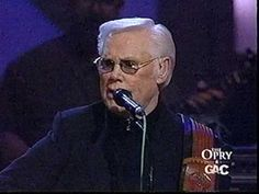 George Jones singing.