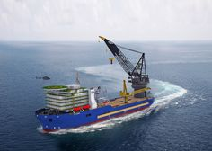 """Deepwater pipe laying vessel The vessel, tentatively named Derrick Lay Vessel 2000 (""""DLV2000"""")"""