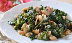Tasty Kale and White Beans