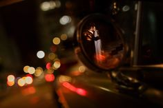 Great creative night time posed shot - Photo by Mauricio Arias (Chrisman Studios)
