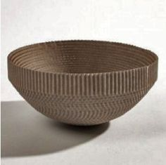 Recircled Bowl Small, Future & found, cardboard bowl