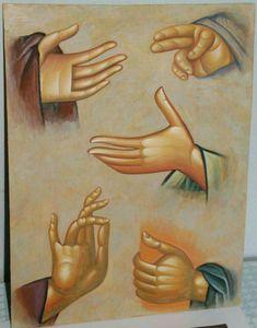 Photo Byzantine Icons, Byzantine Art, Medieval Tapestry, Medieval Art, Religious Icons, Religious Art, Hand Symbols, Paint Icon, Russian Icons
