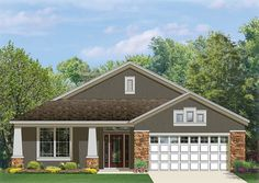 Craftsman Style House Plan with 1760 Square Feet and 3 Bedrooms from Dream Home Source   House Plan Code DHSW077090