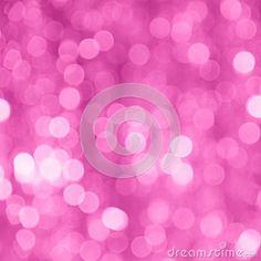 Valentines Day Pink Blur Background - Stock Photo