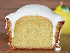 Budín de limón Plum Cake, Pan Dulce, Cookies And Cream, Vanilla Cake, Sweet Recipes, Love Food, Cupcake Cakes, Bakery, Food And Drink