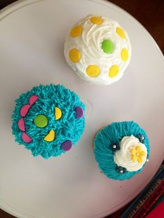 Cup cake decorado sencillos