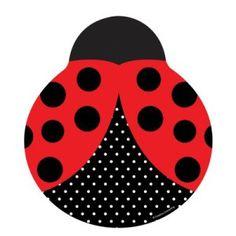 ladybug party platesone stop kids party shop