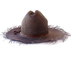 c20c2ccb44b Cowboy Hat Panama Straw Hat Black Straw Hat Men s Hat Women s Hat Western Hat  Beach Hat Sun Hat Summ