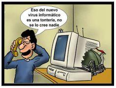 chiste humor virus informatico