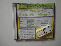 Use a CD case with magnet strips attached to create a lesson review craft for Children's church.  Follow the link for craft and lesson details.