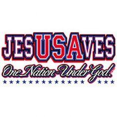 $17.00 / $15.00 - USA T-Shirt Jesus Saves Christian t shirt Inspirational tshirt SM - 3XL