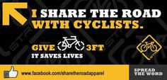 share the road... please