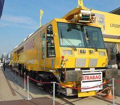 Die STRABAG AG hat inzwischen in eine ganze Reihe neuer Bahnbaufahrzeuge… Work Train, Bahn, Trains, Transportation, Vehicles, Investing, Car, Train, Vehicle