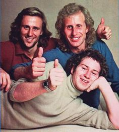 OMG - they certainly don't make tennis players like they use to!  McEnroe-Borg-Gerulatus