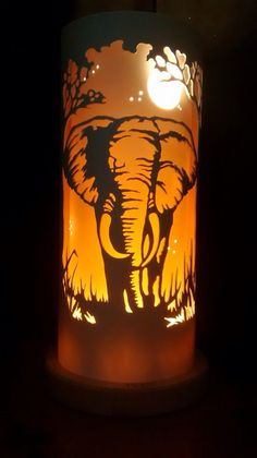 Bespoke hand crafted pvc pipe lamps by TiqueLights Pvc Pipe Crafts, Diy And Crafts, Kirigami, Elephant Lamp, Laser Art, Pipe Lighting, Pvc Projects, Lantern Candle Holders, Pipe Lamp