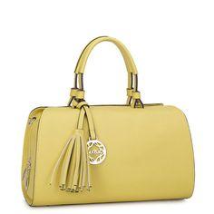 Bolsas de mano para dama Piel azul rosa amarillo Shopidonea Importado