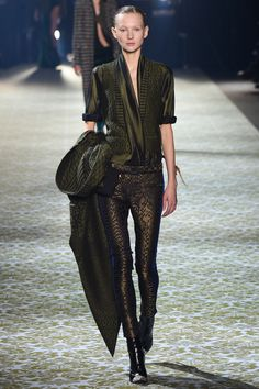 Haider Ackermann Fall 2016 Ready-to-Wear Fashion Show